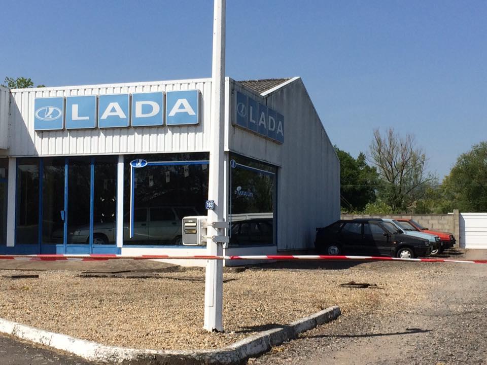 LADA, салон LADA, франция, LADA 2121, LADA 2105