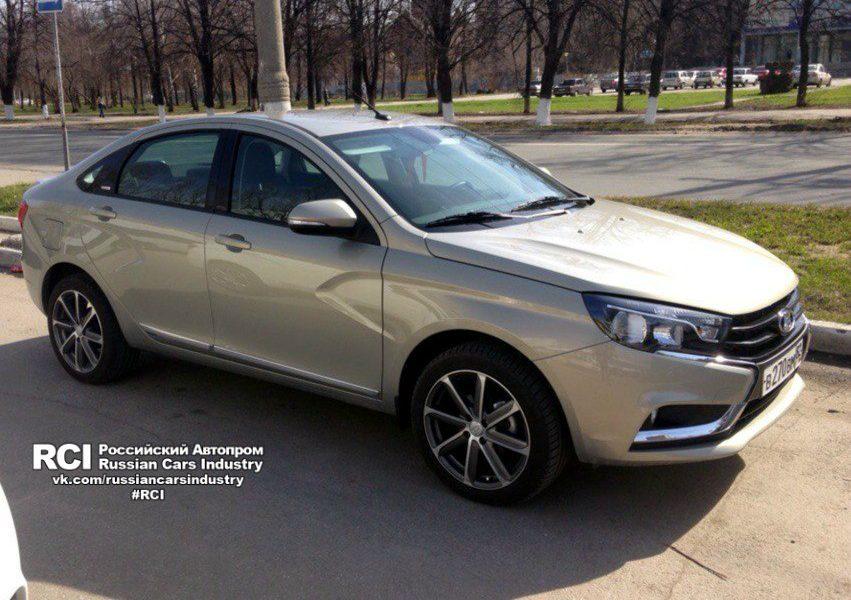 Lada Vesta Exclusive, лада веста эксклюзив, фото