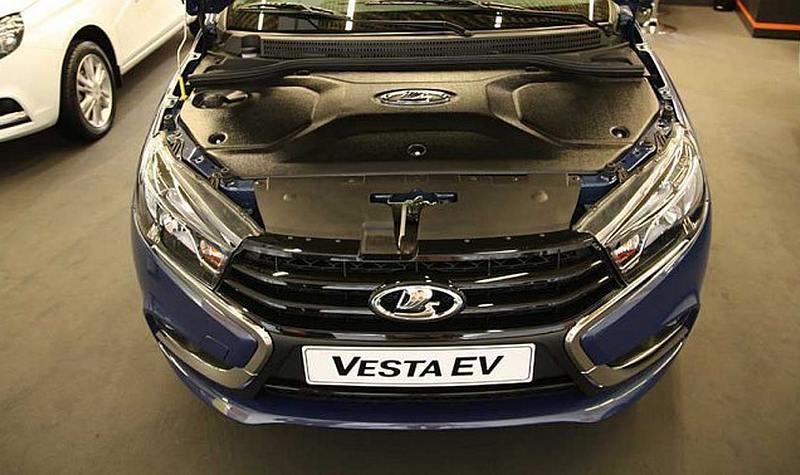 LADA Vesta, Лада веста, веста, автоваз, LADA Vesta EV, электромобиль, казахстан, ЭКСПО-2017