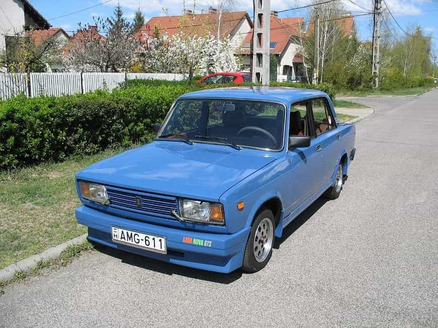 LADA Nova GTS, LADA Nova, венгрия, ваз 2107, LADA