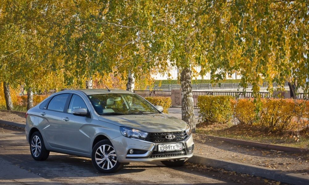 LADA Vesta Exclusive, LADA Vesta, Exclusive, тест-драйв, лада веста, веста