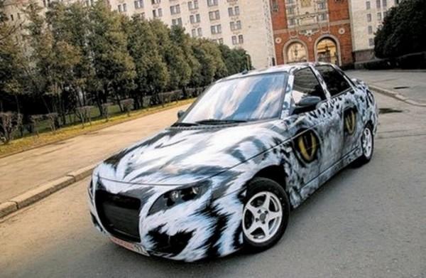 Определена десятка лучших тюнинг-проектов автомобилей LADA