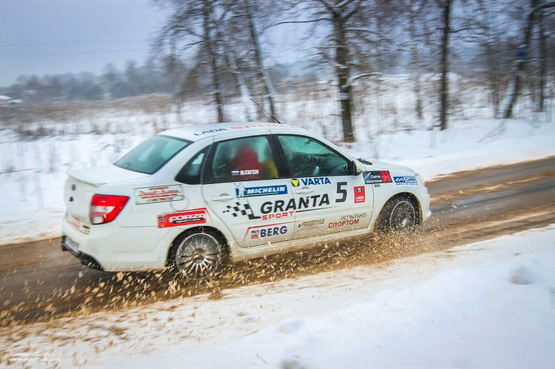 Granta Sport успешно показала себя на ралли МАДИ