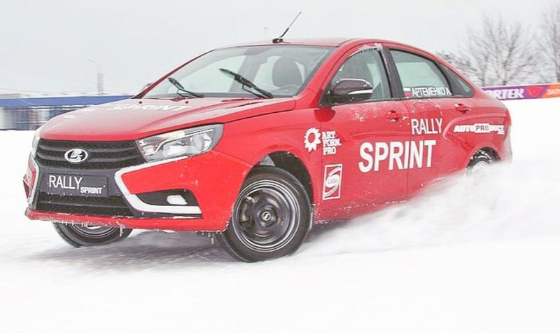 LADA Vesta Rally Sprint, лада веста, ралли спринт, веста