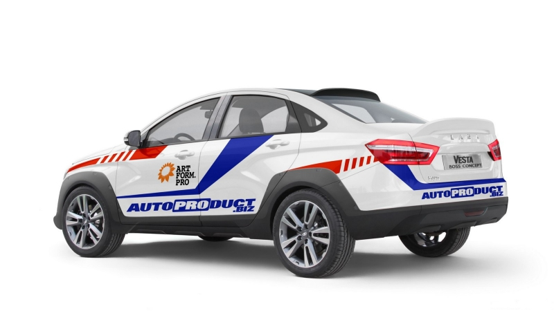 Lada vesta rally cross