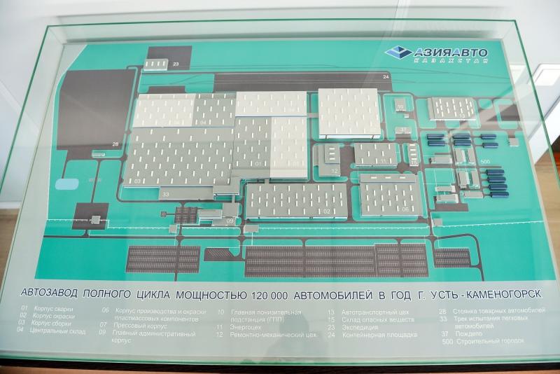 Срок запуска завода АВТОВАЗа в Казахстане назначили на 2021 год