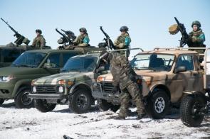 Под Ульяновском показали военные автомобили на базе Нивы