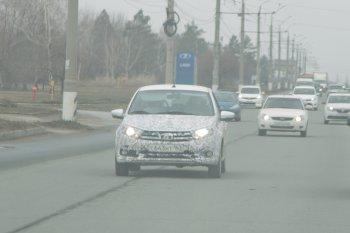 АВТОВАЗ продолжает тестировать обновленную Гранту