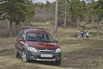 Русский Cross: тест LADA Largus с 16-ти клапанным мотором от АВТОВАЗа