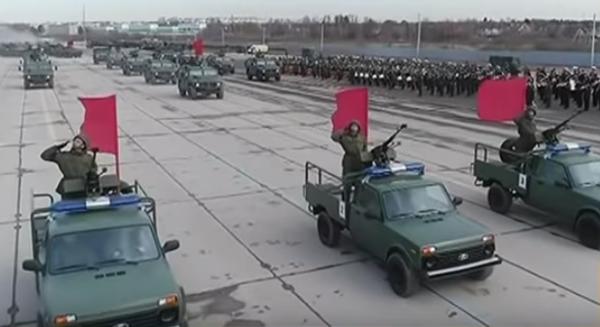 Военную «Ниву» покажут на Параде Победы