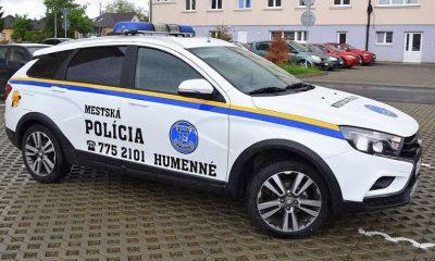 LADA Vesta Cross, лада веста кросс, веста кросс, лада веста, LADA Vesta, полиция, словакия